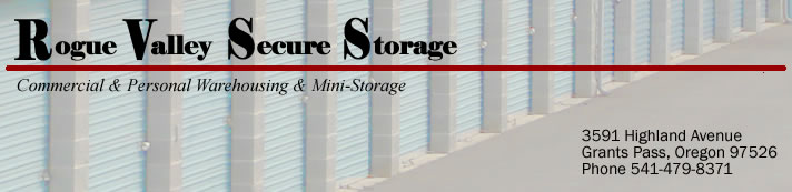 Rogue Valley Secure Storage