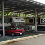 Covered and uncovered RV & Boat Storage